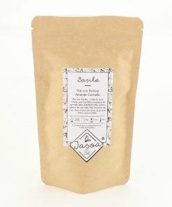 basile thé noir pomme amande cannelle 100 grammes doypack