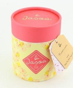 firmin thé pu erh tuo cha 80 grammes boîte cartonnée jasoa rose jaune