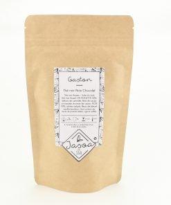 gaston thé noir noix chocolat biologique 80 grammes doypack
