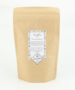 gisèle thé vert fraise menthe biologique 100 grammes doypack