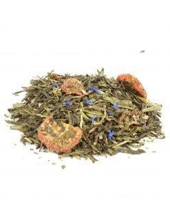 gisèle thé vert fraise menthe biologique vrac