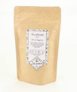 gustave thé noir bergamote biologique 90 grammes doypack
