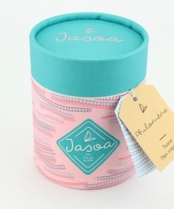 philomène tisane paix intérieure 100 grammes boîte cartonnée jasoa bleu rose