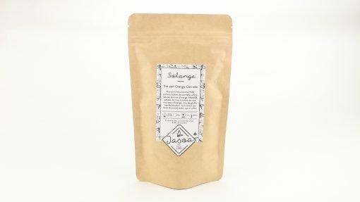 solange thé vert orange cannelle 100 grammes doypack