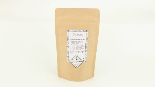 lucien rooibos cannelle vanille 100 grammes doypack
