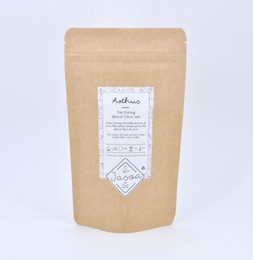 Arthus thé Oolong abricot citron vert 100 grammes doypack