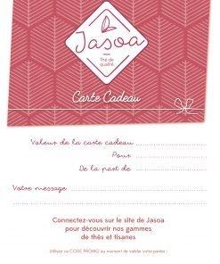 Carte Cadeau Jasoa Framboise