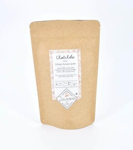 Clotilde infusion pomme carotte 100 grammes doypack