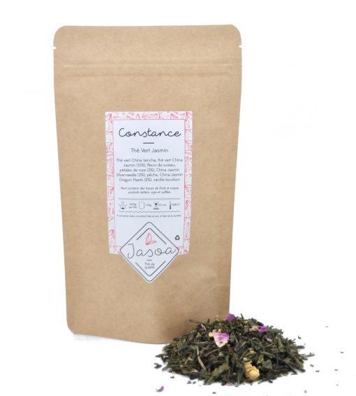 Constance thé vert Jasmin vrac et doypack