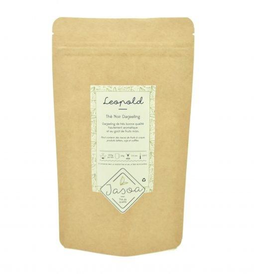 Léoplold thé noir Darjeeling 80 grammes